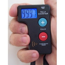 Electronic-tally-counter