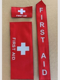 Red First Aid Velco